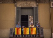 APTOPIX Spain Catalonia Independence