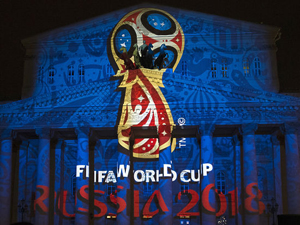 Russia Soccer World Cup Logo