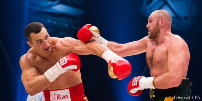 Vladimir Klitschko against Tyson Fury