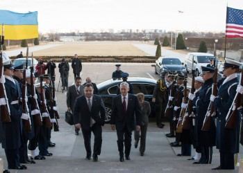 SD meets with Ukraine's Defense Minister