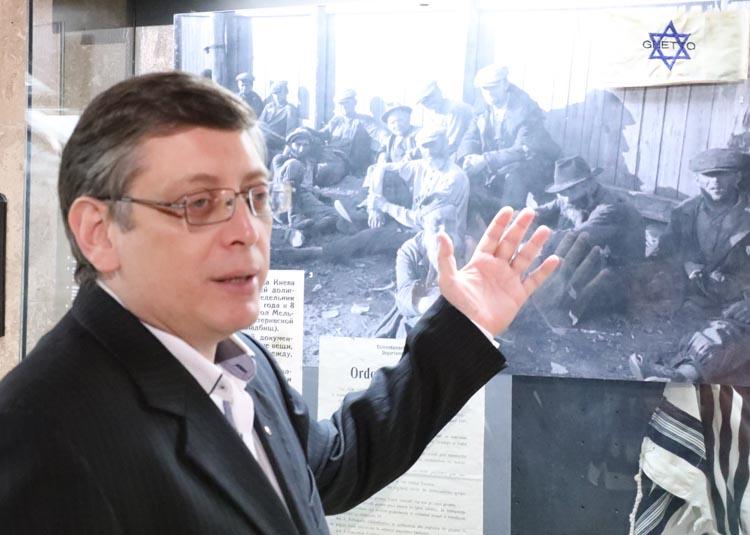 Игорь Щупак - хранитель памяти жертв Холокоста в Днепре