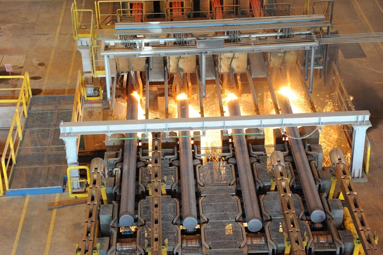Непрерывно литая заготовка_Steel billets