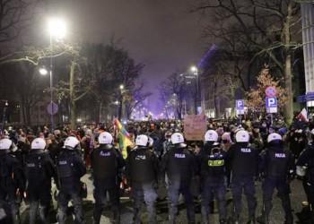 протесты польша