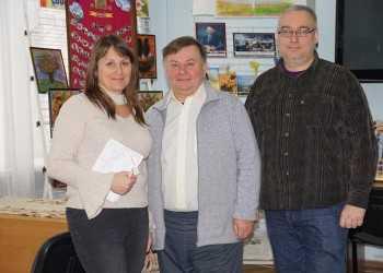Участники съемочной группы Наталья Огородняя, Николай Чабан (в центре) и Дмитрий Пилипенко работали над созданием фильма два года, побывав во всех местах «казацкой славы»