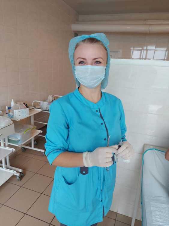 Медсестра Марина Шадрунова - настоящий профессионал