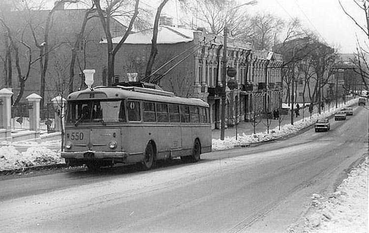 улица Серова. 1985.Автор  фото Ааре Оландер