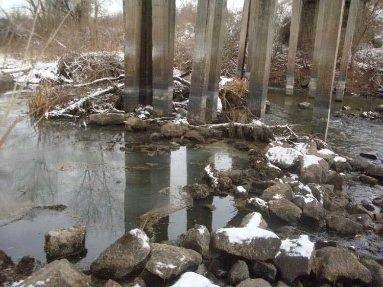 Орель. Мост на Ивановку