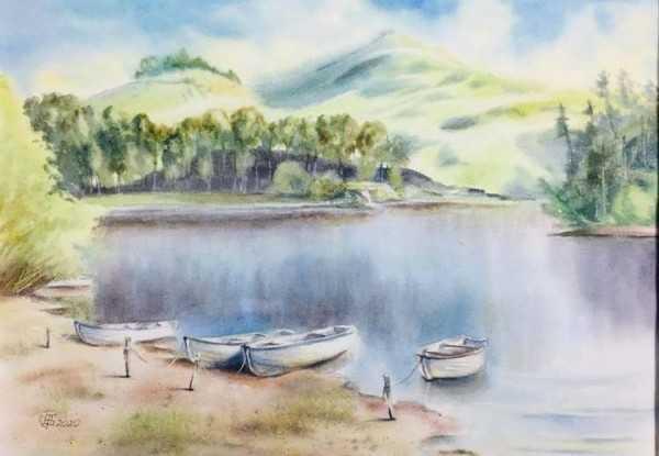 Туманний ранок, 2009 р. Бабіч Сергій, м. Кам'янське