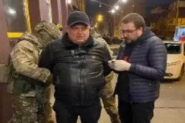 Задержание Пономаренко Дмитрия (позывной Дитрих, Борисфен, Катренко). Банда убийством людей, занималась рекетом, вымогательством, мошенничеством.