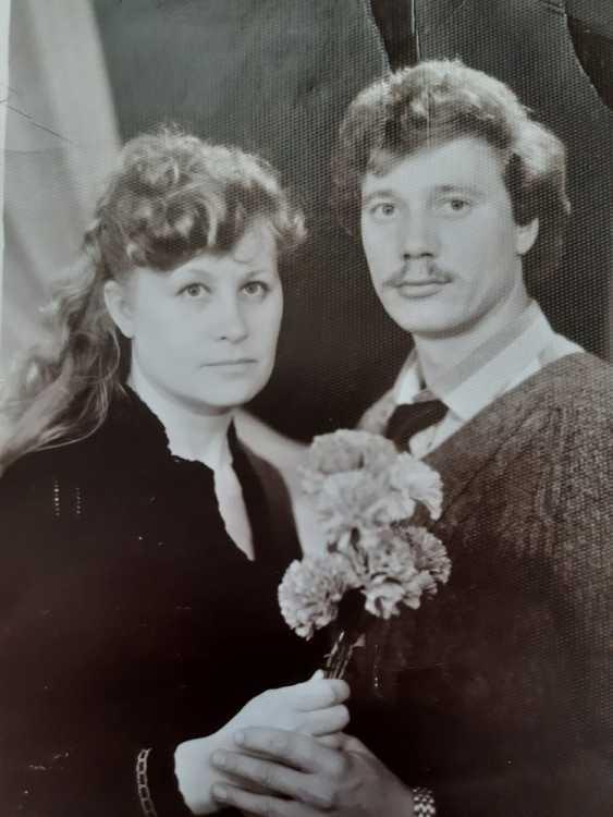 """Единственная фотография """"из прошлого"""", которая сохранилась в семейном архиве Людмилы и Владимира"""