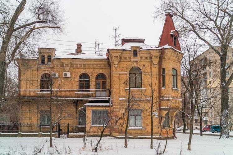 Особняк Николая Папчинского оберегала от разрушения фигура скарабея