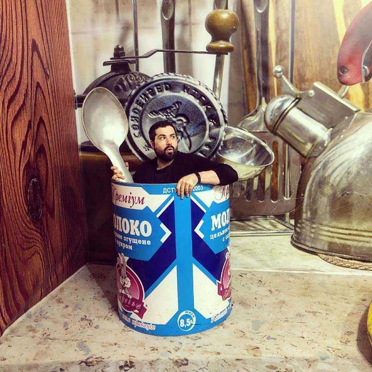 Сладкая казнь: днепровский певец устроил необычную фотосессию (Фото). Афиша Днепра