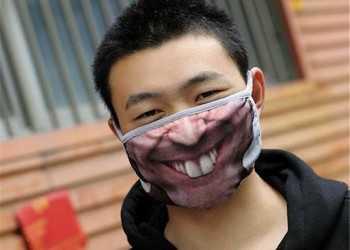 китаец улыбка