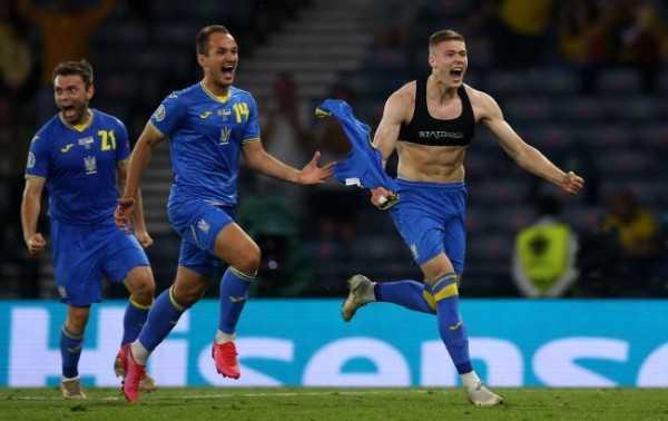победа Украина Швеция