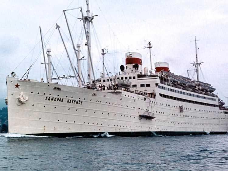 По версии академика, пароход накануне своей гибели столкнулся с телепортировавшимся на краткое время военным кораблем