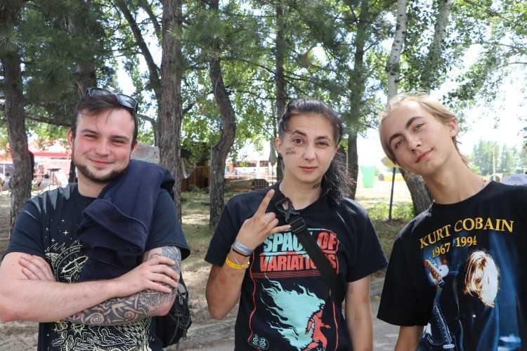 Ілля з Києва, Марина з Житомирської області і Руслан з Кам'янського