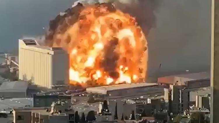взрыв Бейрут